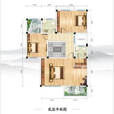 鑫龙·御龙湾--7#B户型281.3㎡