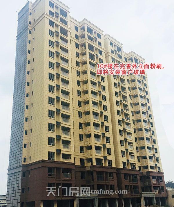 10号楼在完善外立面粉刷,即将安装窗户玻璃.jpg