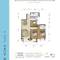 金港尚城3#楼C2户型户型图
