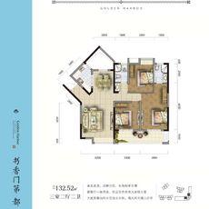 金港尚城4#楼D1户型户型图