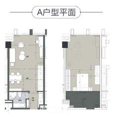 128奧特萊斯廣場公寓A戶型戶型圖