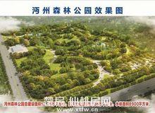 """實拍!南城新區""""仙桃之肺""""沔州森林公園"""