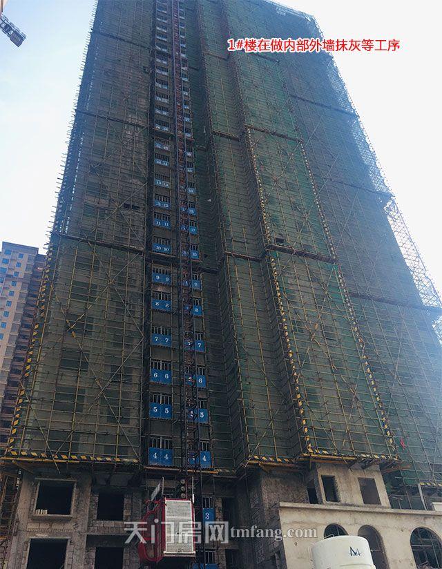 1号楼在做内外墙抹灰等工序.jpg