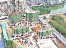 银湖国际10月进度:三期四栋楼正在动工