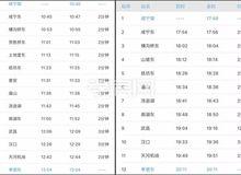 10月11日 孝感东—咸宁南城际铁路正式开通