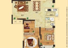 东湖金利屋 毛坯小三房 东湖边上安个家 中高楼层