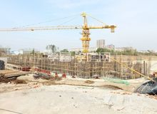 颐德府10月工程进度:营销中心架构已完工