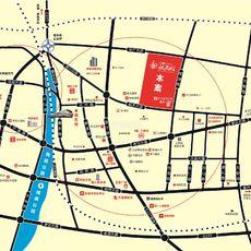 方鹏·航天城区域图