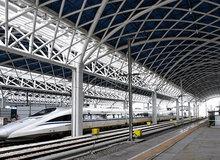 汉十高铁安陆西站内景曝光 年底将通车!