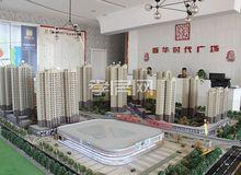 新華時代廣場12月進度:綠化已初具雛形