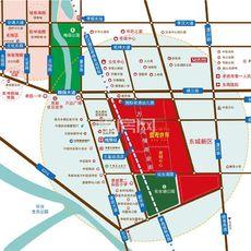 九燁·鼎觀世界三期紅堡區位圖