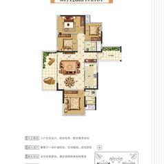 仙桃锦华首府户型图-126