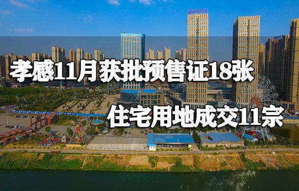 11月获批预售证18张 住宅用地成交11宗