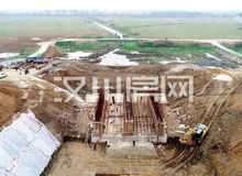 投资829.6万!汉北河麻河闸要通水了!