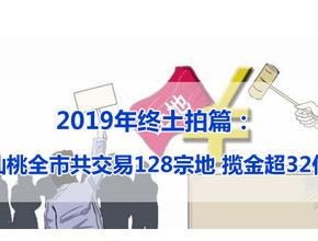 2019年终土拍篇: 仙桃全市共交易128宗地 揽金超32亿