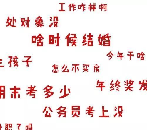 """春节""""灵魂拷问""""来袭,教你如何一招致胜!"""