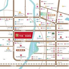 中南·春溪集區位圖