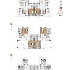 新城玺樾--B1-B41#238㎡四厅别院
