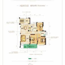 名門4#楼A6户型户型图