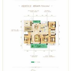 名門5#楼A12户型户型图