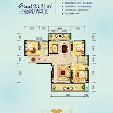 民邦·槐荫东岸2期3#楼4/5号房户型图