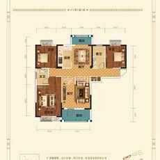 香港城·裕华苑7#楼E1-1户型图