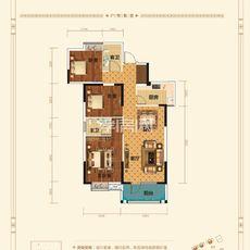 香港城·裕华苑7/8#楼E1-2户型图