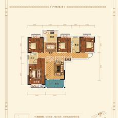 香港城·裕华苑8#楼E2-1户型图