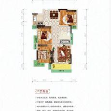 港锦新城10#楼A2户型户型图