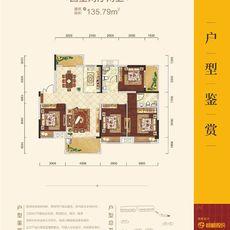 锦绣江山·望府1C户型图
