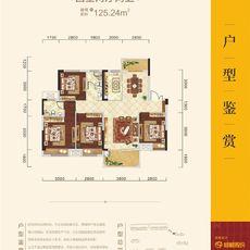 锦绣江山·望府1A户型图