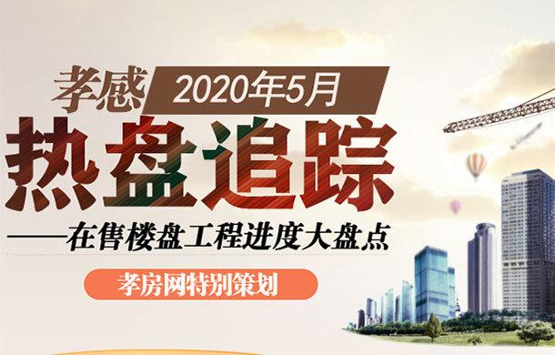 孝感2020年5月在售樓盤工程進度大盤點