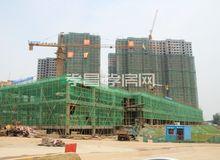 孟宗·凤凰城7月工程进度:高层外立面均已呈现