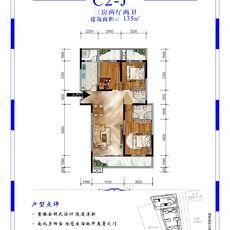 元泰未来城C2-J户型图