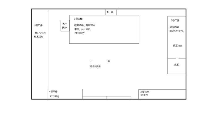 城隍轉盤獨院廠房招租3500平方鄰妙虎紡織(可出售)