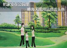 小编探秘:公园豪宅峰海天成如何用品质造头条