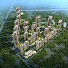 碧桂园·新城·华府鸟瞰图