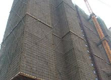 楚天尚城三期12月工程进度:17号楼喜封金顶