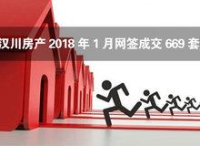 汉川房产2018年1月网签成交669套