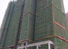 东湖中央公馆1月工程进度:2#楼建至22层
