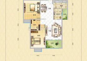 西湖路金丰家园三室两厅