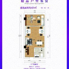 江漢平原農產品大市場C戶型戶型圖