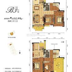 万锦城--复式 B3户型