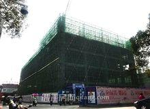 广华新天地三月工程进度 已建至第四层