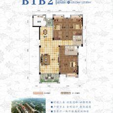 江汉明珠B1B2户型图