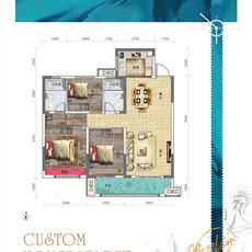 鑫园·未来城C-2户型户型图