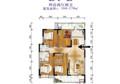 元泰未來城 B區湖景大四房 南北通透視野好 樓層好 出行方便