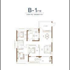 碧溪天地--3/5/7/8#B-1户型
