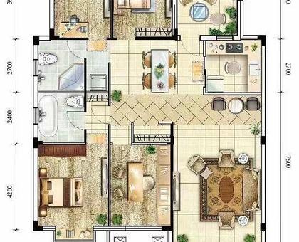海川·梧桐郡洋房 3#楼建面约156.89㎡