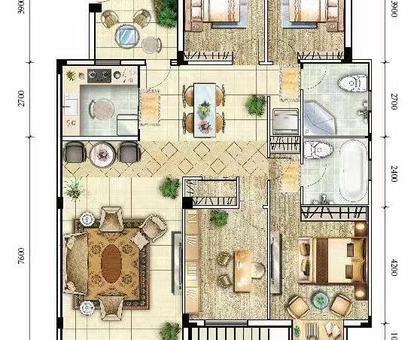 海川·梧桐郡洋房 2#楼建面约165.1㎡
